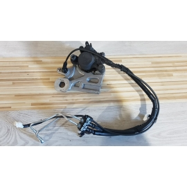 Rear Brake Caliper & Bracket & Sensor Yamaha MT 09 - ABS - RN 29 - 2014 Yamaha MT 09 - ABS - RN 29 - 2014