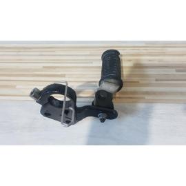 Holder Footrest Left Triumph Bonneville T 100 - Black - 2015 Triumph Bonneville T 100 - Black - 2015