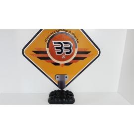 Cylinder Head Cover - Black Triumph T 100 EFI - 2009