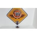 Cover Clutch - CHROME Harley Davidson Fat Boy - FLSTF - 2003