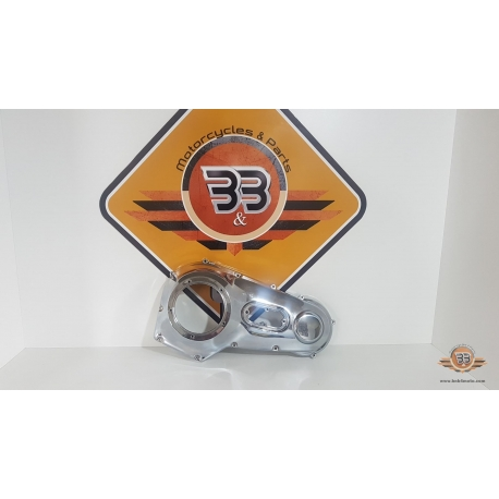 Cover Assembly Primary - CHROME Harley Davidson Fat Boy - FLSTF - 2003<p>Harley Davidson Fat Boy - FLSTF - 2003</p>